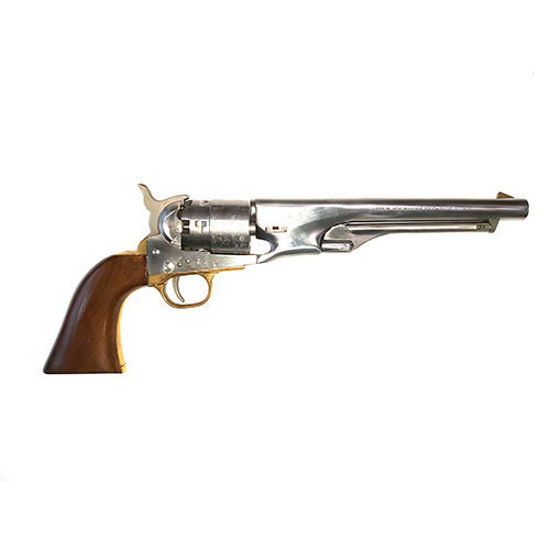EuroArms Colt 1860 Army Stainless Steel 44 Cal