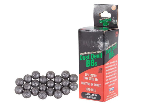 Picture of Dust Devils 4.5mm steel BBs x1500