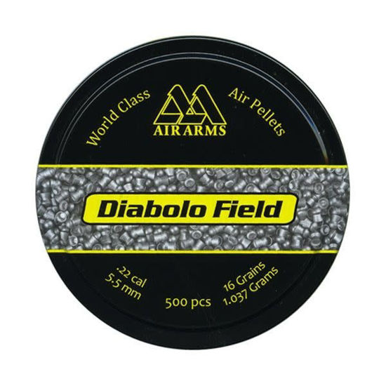 Picture of Air Arms Diabolo Field .22 16gr 5.52 x500
