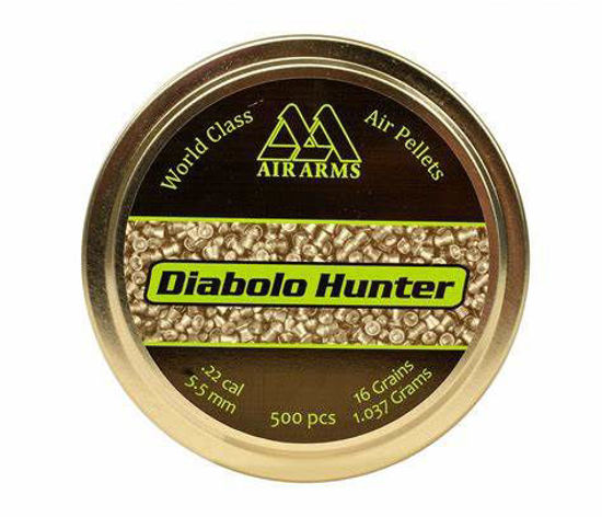 Picture of Air Arms Diabolo Hunter .22 16gr 5.50 x500