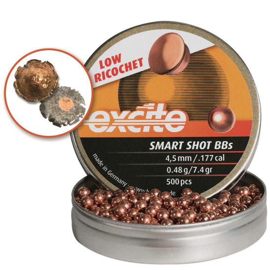 Picture of Excite Smart Shot Low Ricochet BBs 0.48g 7.4gr x750